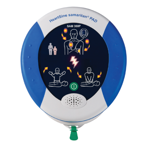 HeartSine Samaritan PAD 360P defibrillator machine