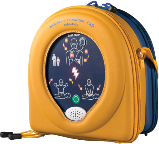 HeartSine Samaritan Defibrillator 360P In Yellow Case