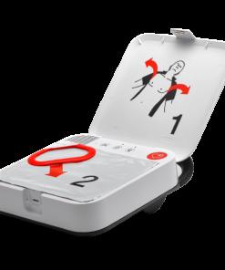 AED Authority LifePad CR2 Essential Defibrillator Device Open
