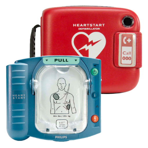 Philips Heart Start HS1 Semi Automatic Defibrillator Device