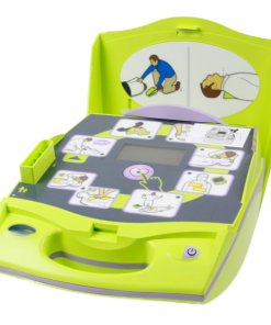 Zoll AED Plus Defibrillator Machine Close-Up Of Interface