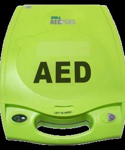 ZOLL AED Plus Green Defibrillator Machine Closed