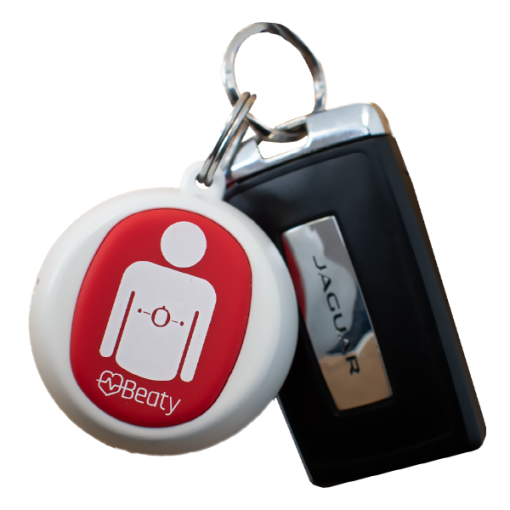 AED Authority Beaty Key Chain Chest Compression Device