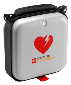 White Lifepak CR2 Wi-Fi Defibrillator Kit