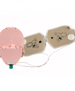 HeartSine Battery And Pad Child Defibrillator Set Open