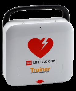 LifePak CR2 Defibrillator Device Side-On Image
