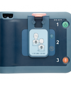 Philips FRx Defibrillator With Infant Key Plugged In