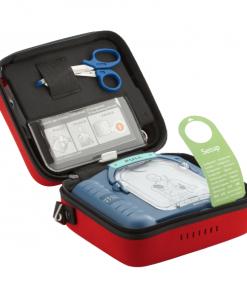 Philips HS1 Adult Smart Defibrillator Pads Set In Red Case