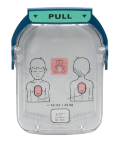 Philips HS1 Paediatric Defibrillator Pads Close-Up Image
