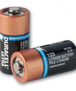 Duracell Ultra Lithium Batteries Powering The ZOLL Defibrillator Device