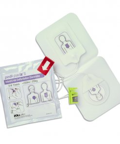 ZOLL Pedi-Padz For Infant or Child To Plug Into The AED Plus Defibrillator Device
