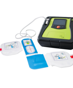 Zoll AED Authority Professional Model Defibrillator With Pads Open & Connected