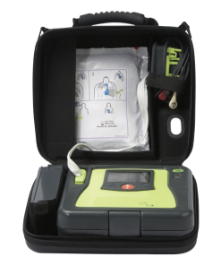 Zoll AED Authority Pro 4 Defibrillator in Portable Case With Pads